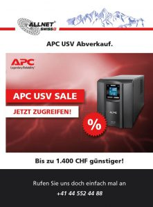 APC USV Abverkauf