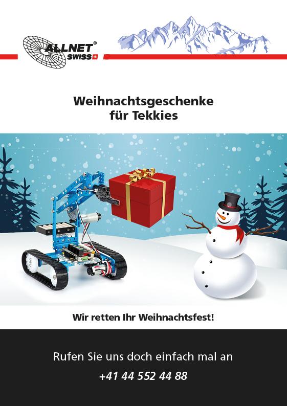 Weihnachtsgeschenke für Tekkies