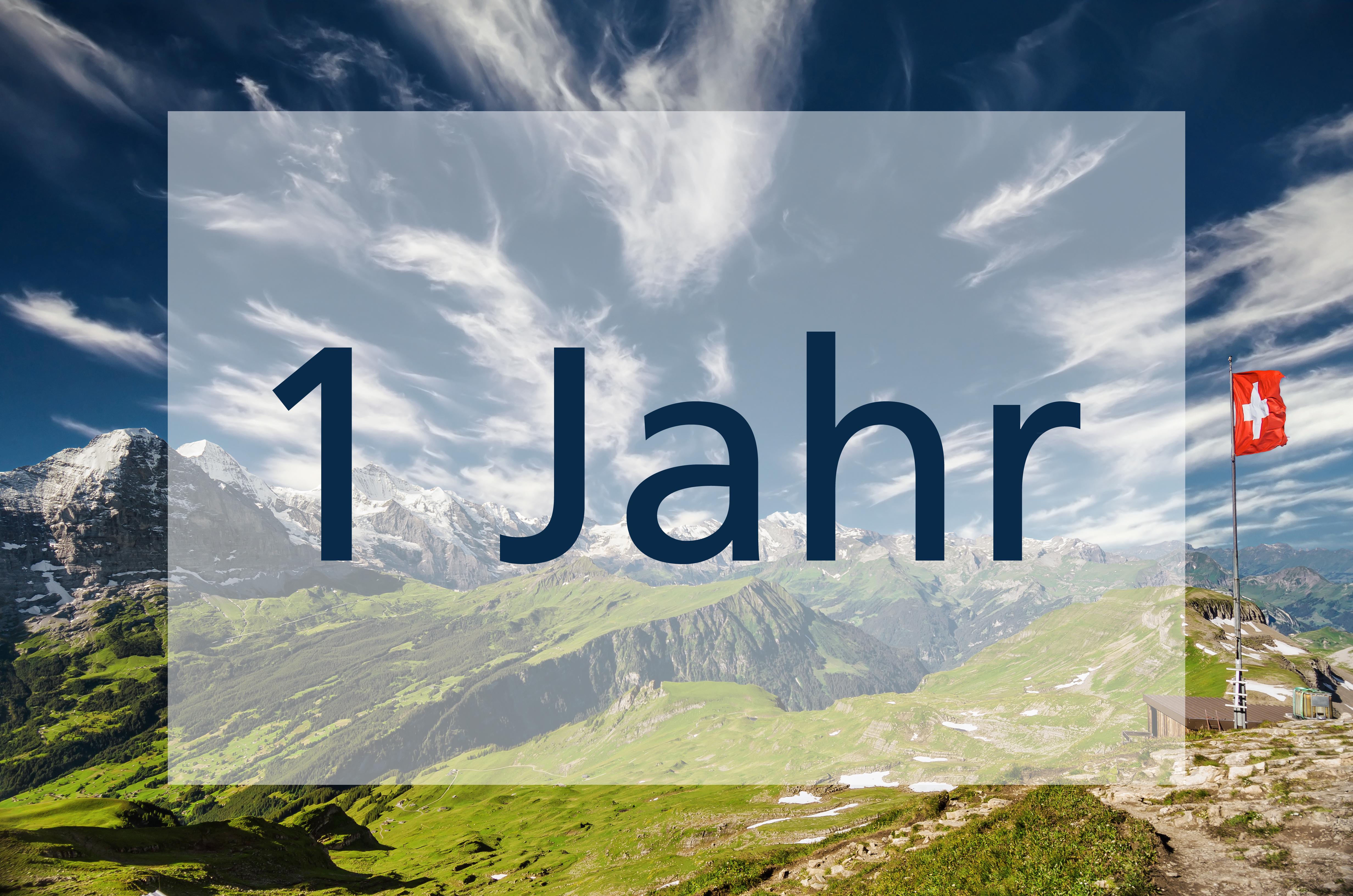 1 Jahr ALLNET Schweiz