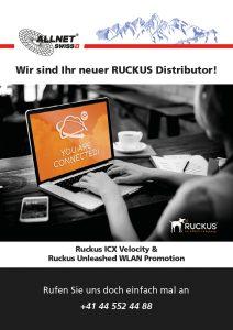 ALLNET SChweiz Ruckus ICX Velocity und Unleashed WLAN Promotion